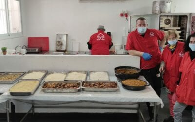 Purim Preparations and Meal Kits With Our Valued Partner, Latet