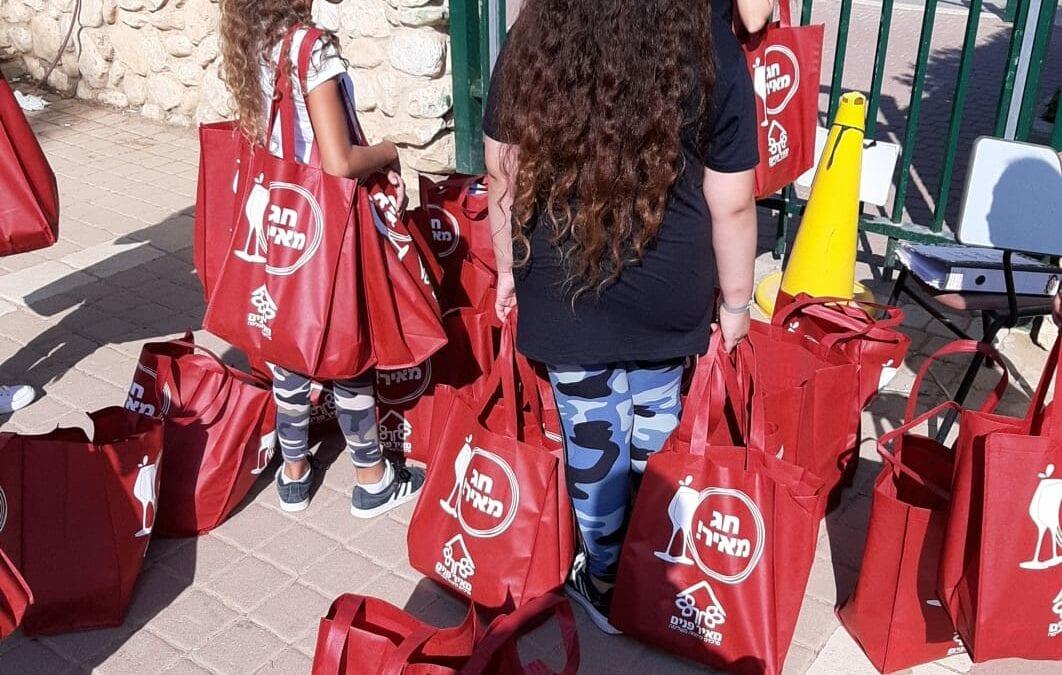 Meir Panim Visits Schools