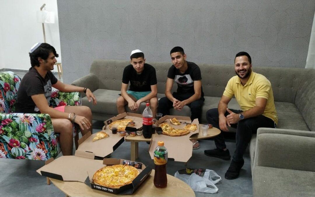 Pizza Night at Nir Am