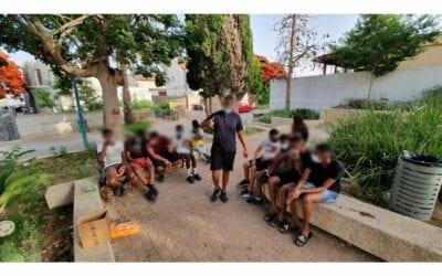 Meir Panim Activities in Sderot