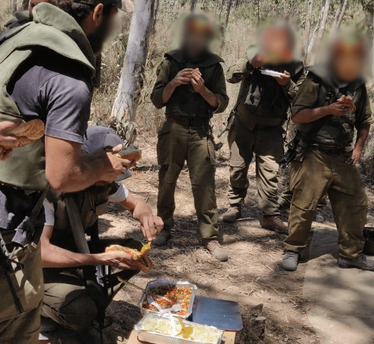 Treating our Soldiers and Youth all over Israel