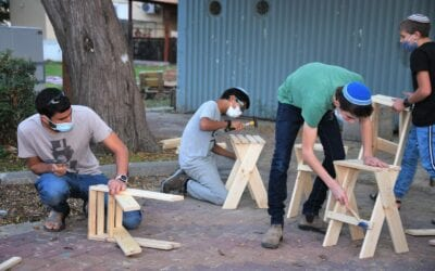 Inspiring Creativity in Meir Panim's Ben Gurion Neighborhood Youth Center in Sderot