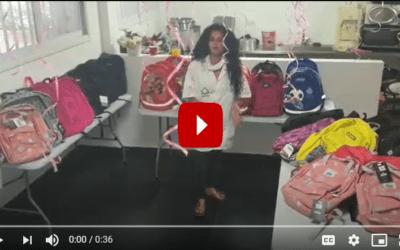 Meir Panim Helping Children Go Back to School in Israel